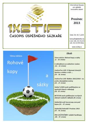 Časopis 1x2tip - PROSINEC 2013