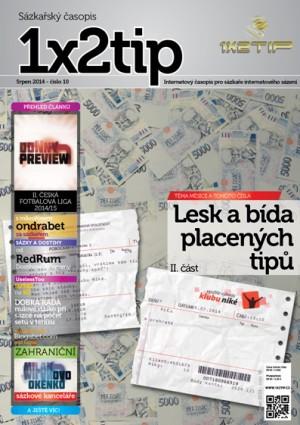 Časopis 1x2tip - SRPEN 2014