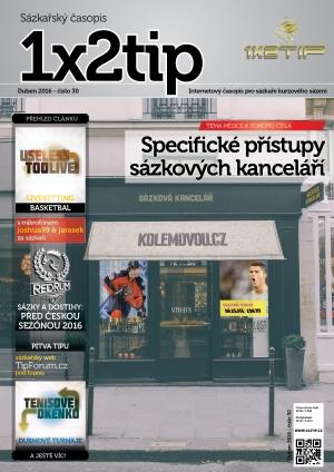 Časopis 1x2tip - DUBEN 2016