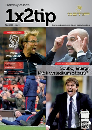 Časopis 1X2tip - ŘÍJEN 2016