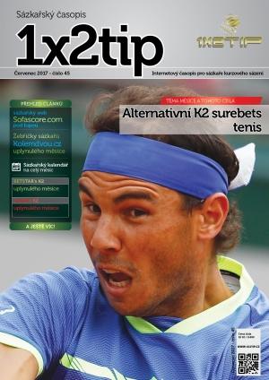 Časopis 1X2tip - ČERVENEC 2017