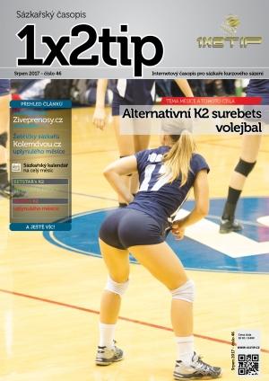 Časopis 1X2tip - SRPEN 2017