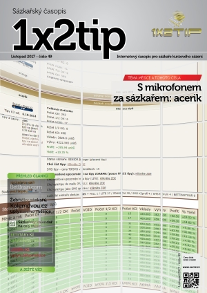 Časopis 1X2tip - LISTOPAD 2017