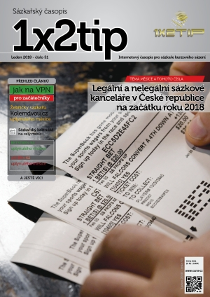 Časopis 1X2tip - LEDEN 2018