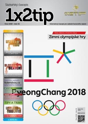 Časopis 1X2tip - ÚNOR 2018