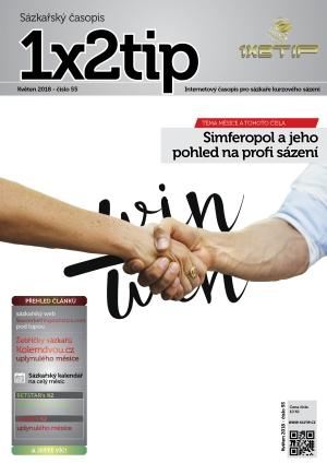 Časopis 1X2tip - KVĚTEN 2018