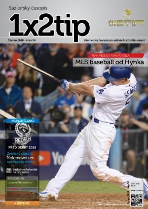 Časopis 1X2tip - ČERVEN 2018